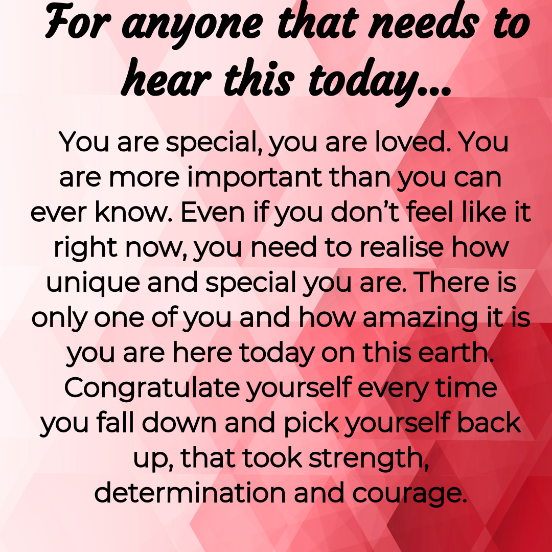 For anyone who needs to hear this today…